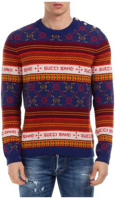 Gucci Band Striped Sweater