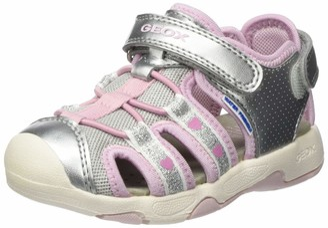 Geox Baby Girls' B Sandal Multy Girl C Walking Baby Shoes