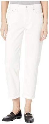 Lucky Brand Mid-Rise Sienna Slim Boyfriend Jeans in Clean White (Clean White) Women's Jeans