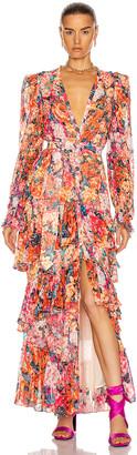 Rococo Sand Peony Maxi Dress in Multi | FWRD