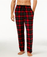 Perry Ellis Men's Plaid Fleece Pajama Pants