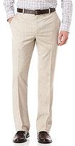 Perry Ellis Big & Tall Regular-Fit Flat-Front Herringbone Pants