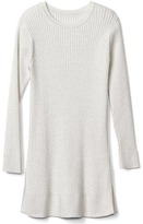 Gap Shimmer ribbed sweater tunic