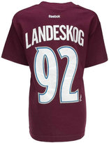 Reebok Kids' Short-Sleeve Gabriel Landeskog Colorado Avalanche Player T-Shirt