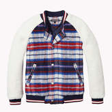 Tommy Hilfiger Plaid Varsity Jacket