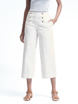 Banana Republic Wide-Leg Cropped Sailor Pant