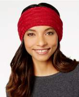 Echo Fleece-Lined Cable-Knit Headband