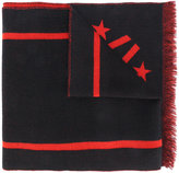 Givenchy 17 pattern scarf - men - Cashmere/Wool - One Size