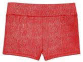 Freestyle By Danskin Girls' Gymnastics Bike Short - Red