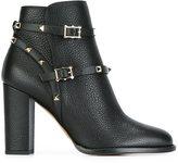 Valentino Garavani Valentino 'Rockstud' ankle boots - women - Leather - 35