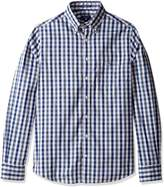 Gant Men's Multi Color Gingham Fitted Button Down Shirt