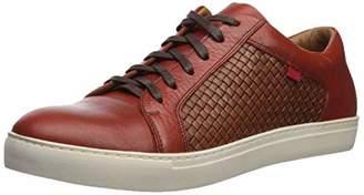 Marc Joseph New York Shoe's Mens Geuine Leather Waverly Street Criss Cross Sneaker