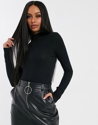 G Star G-Star mock neck bodysuit-Black