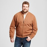Goodfellow & Co Men's Big & Tall Standard Fit Vintage Bomber Jacket - Goodfellow & Co Brown