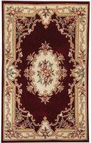 CLOSEOUT! Kenneth Mink Area Rug, Empress Aubusson Burgundy 5' x 8'
