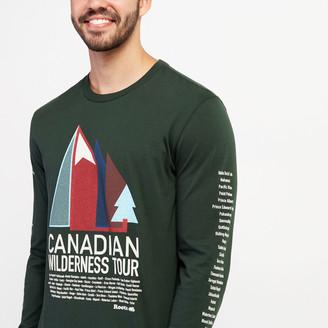 Roots Mens Wilderness Tour Long Sleeve T-shirt