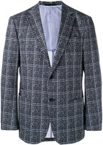 Z Zegna checked two button jacket - men - Cotton/Spandex/Elastane/Rayon - 50