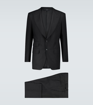 Tom Ford Atticus wool and silk-blend suit