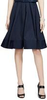 Lauren Ralph Lauren Taffeta Pleat Skirt
