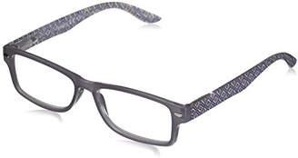 Ocean Drive Peepers Women's Purple/Multi 2402150 Rectangular Reading Glasses