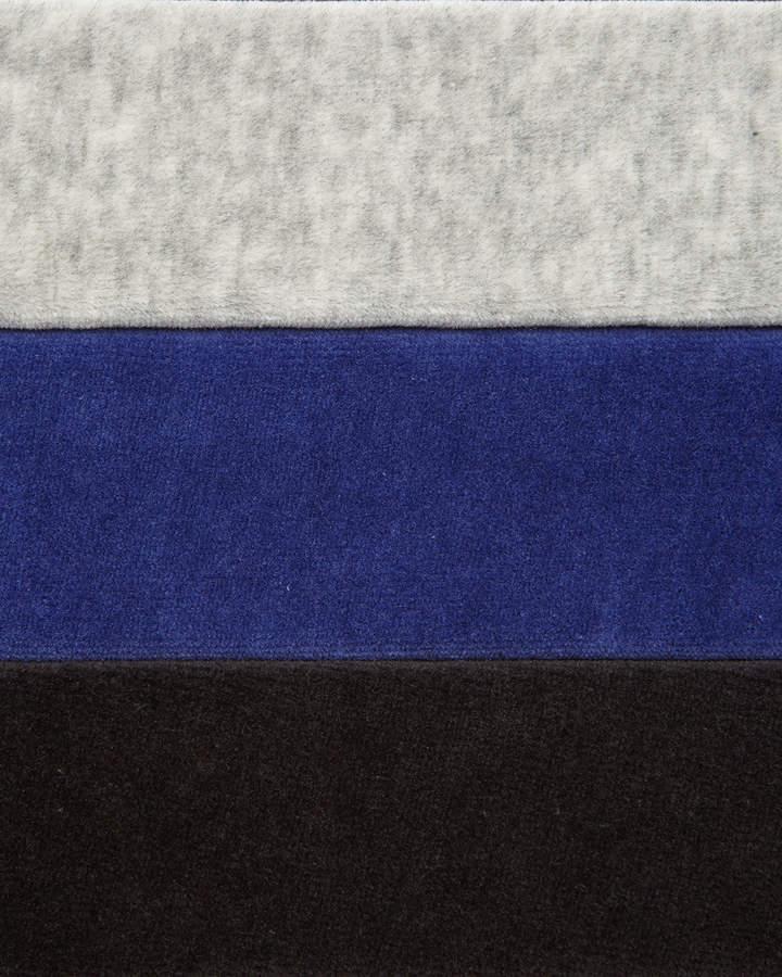 Joan Vass Velour 4-Pocket Long Jacket