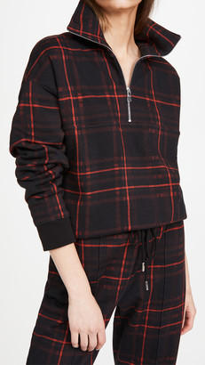 Ninety Percent Checked Pullover