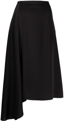 Filippa K Drapey asymmetric skirt