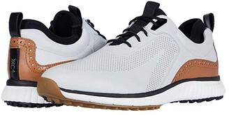 Johnston & Murphy Waterproof XC4(r) Golf H1-Luxe Hybrid Sneaker (Tan Waterproof Full Grain) Men's Shoes