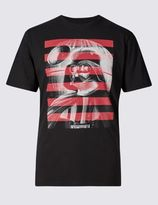 Marks and Spencer Star WarsTM Darth Vader Pure Cotton T-Shirt