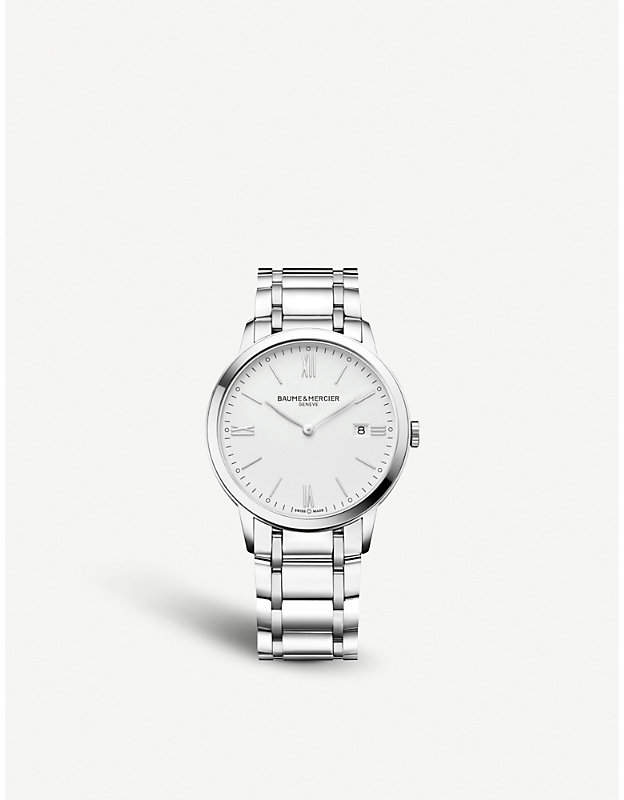 Baume & Mercier M0A10354 Classima stainless steel watch