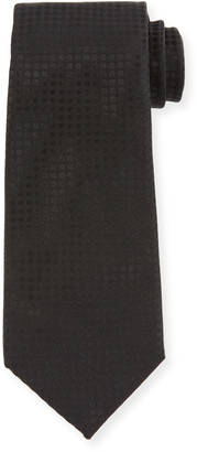 Tom Ford Men's Tonal Dots 8cm Tie, Black