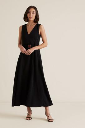 Seed Heritage Clasp Belt Dress
