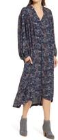Thumbnail for your product : Treasure & Bond Floral Long Sleeve Woven Midi Dress