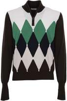 Ballantyne Diamond Pattern Sweater