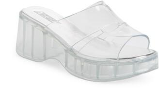 Jeffrey Campbell Jelli Platform Slide Sandal