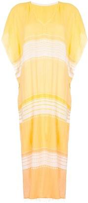 Lemlem Gradient Striped Beach Dress