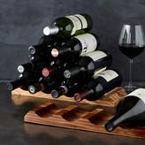 Williams-Sonoma Williams Sonoma Olivewood Pyramid Wine Rack