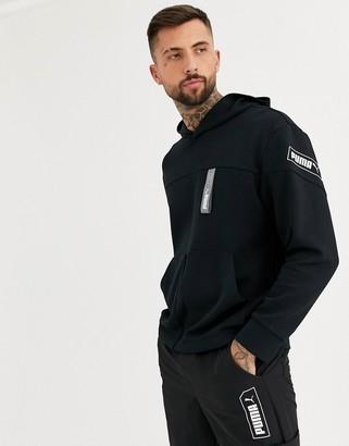 Puma Nu-Tility hoodie in black