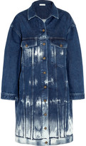 Stella McCartney Oversized Tie-dyed Stretch-denim Jacket - Mid denim