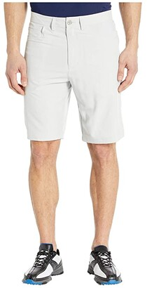 Straight Down Renegade Shorts (Silver) Men's Clothing