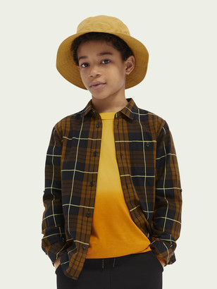 Scotch & Soda Checked cotton oxford shirt | Boys