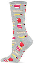 Hot Sox Back To School Printed Socks