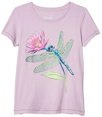 Athena PEEK Dragonfly Tee (Toddler/Little Kids/Big Kids) (Lilac) Girl's Clothing