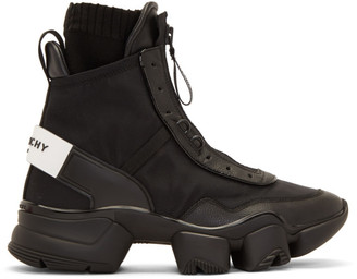 Givenchy Black Jaw High Sneakers