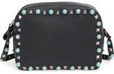 Valentino 'Rockstud Rolling' Camera Crossbody Bag