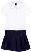 U.S. Polo Assn. Navy & White Polo Jumper - Girls