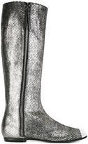 Giuseppe Zanotti Design metallic boots