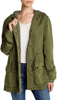 Peace Love World Proud Supporters of Love Military Jacket