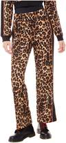 Juicy Couture Jxjc Leopard Tricot Wide Leg Pant