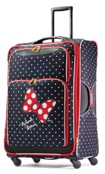 """American Tourister Disney by Minnie Mouse Red Bow 28"""" Check-In Spinner"""